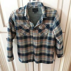 Boys Large O'Neill Flannel fleece lined shirt